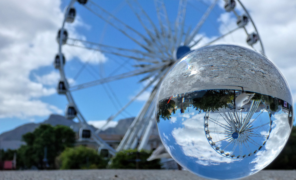 The Cape Wheel at the Waterfront by ludwigsdiana