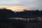 20th Jan 2019 - Riverbend Pond sunset
