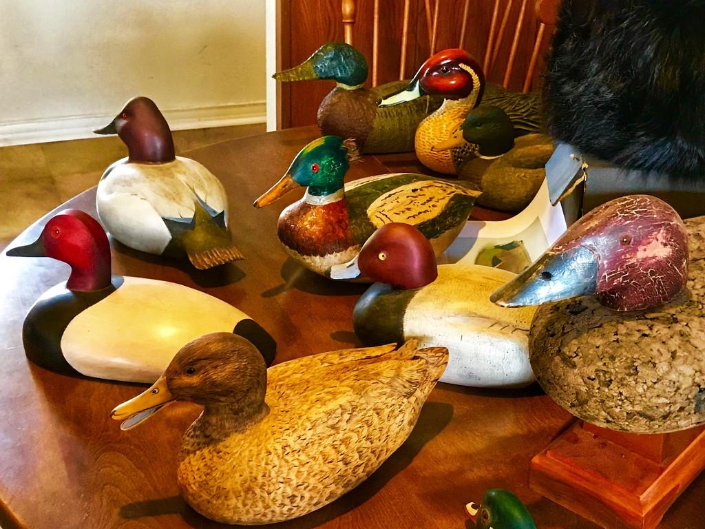 The duck decoy table by louannwarren