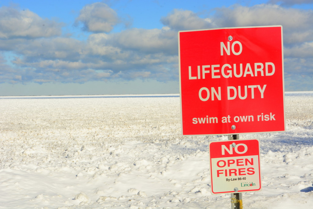 Swim at your own risk !! by jayberg