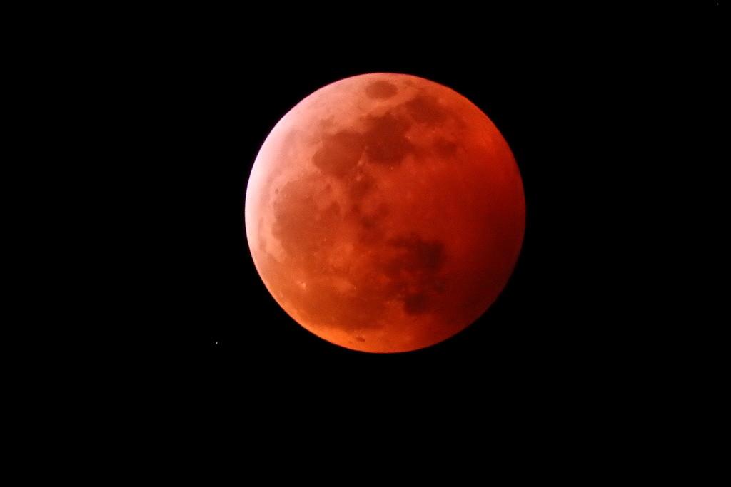 Full lunar eclipse by homeschoolmom