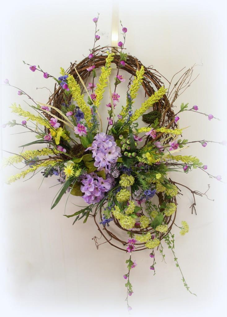 Spring Wreath  by calm