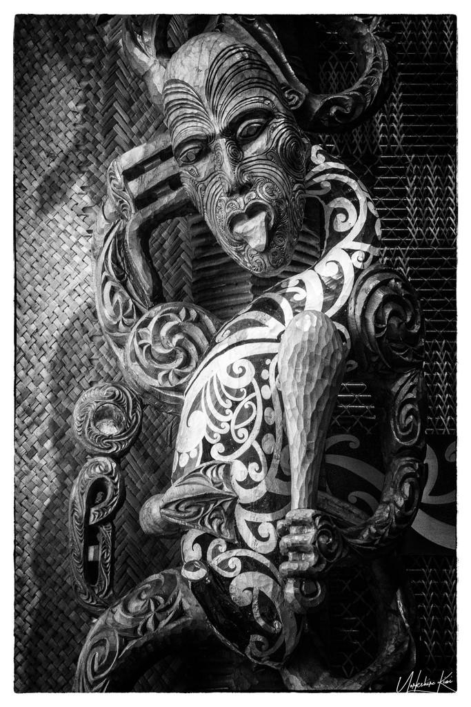 Maori Carving by yorkshirekiwi