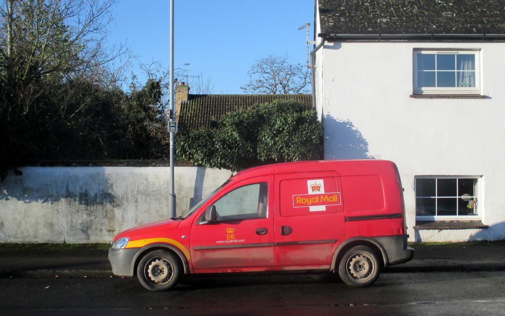Post Office Van by g3xbm