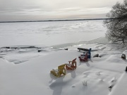 22nd Jan 2019 - Back to Reality! St. Lawrence River in January!