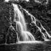 Owharoa Falls - B&W version