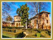 24th Jan 2019 - Palace Of The Partal And Gardens,The Alhambra,Granada