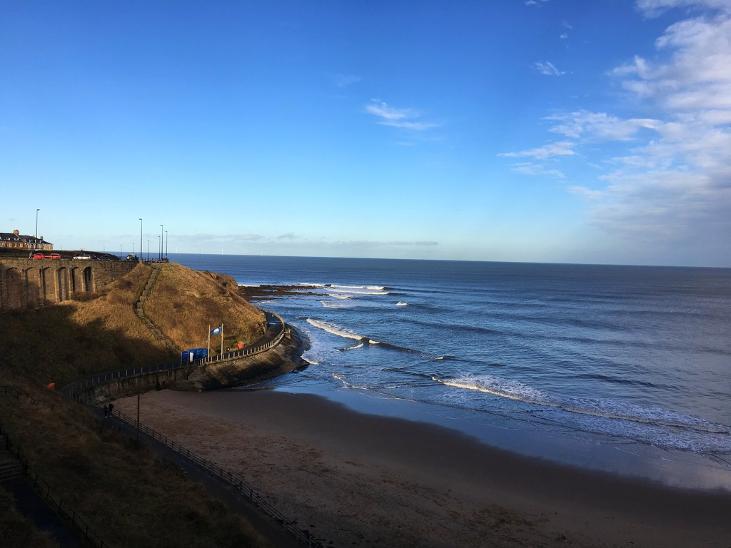 Tynemouth in the cold sunshine  by angiedanielle24