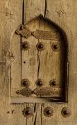 24th Jan 2019 - 024 - Hatch in woodend door
