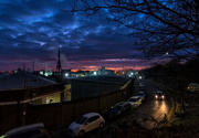 24th Jan 2019 - Industrial sunrise