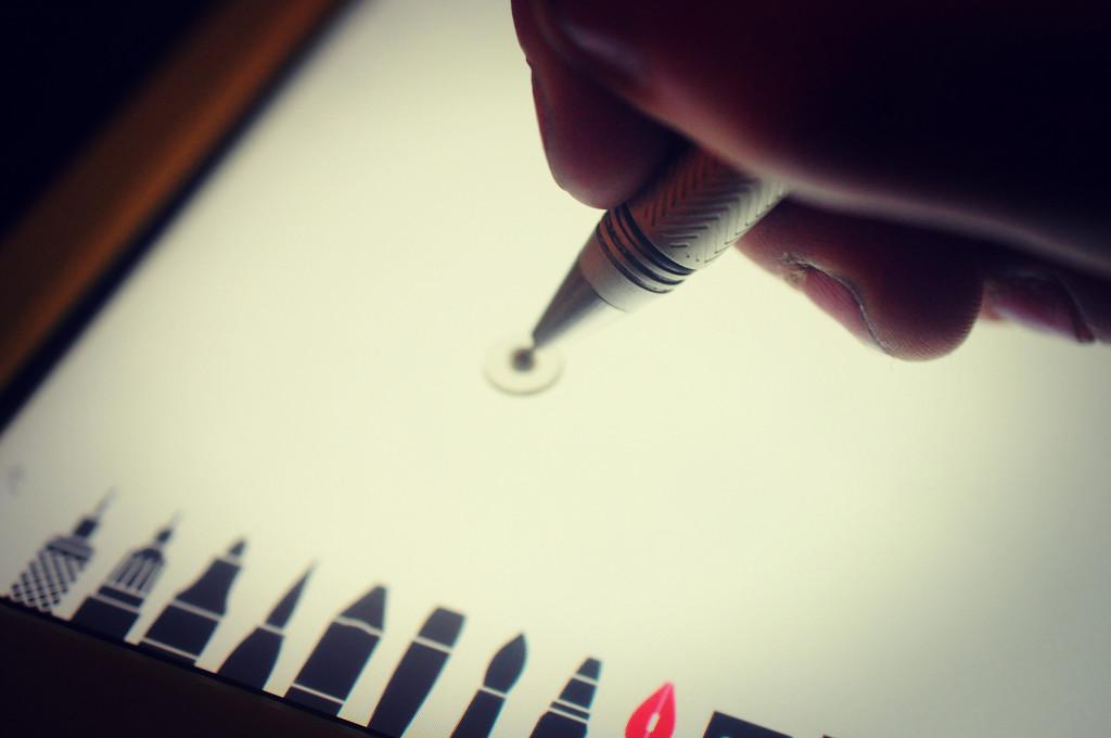 Fancy Shmancy Pen Thing by naomi