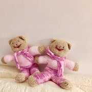 24th Jan 2019 - Knitted Teddies