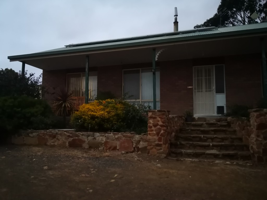 House at dusk (2) by kgolab
