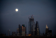26th Jan 2019 - Full Moon over London