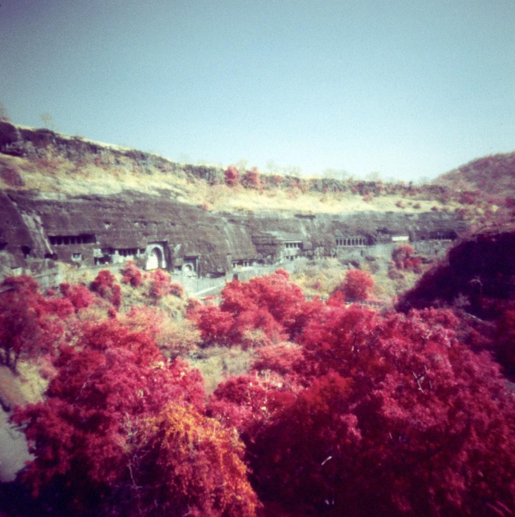 Ajanta Caves by peterdegraaff