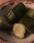 27th Jan 2019 - Fresh kosher garlic dill pickles