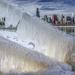 Ice Window to Chicago's Skyline by taffy