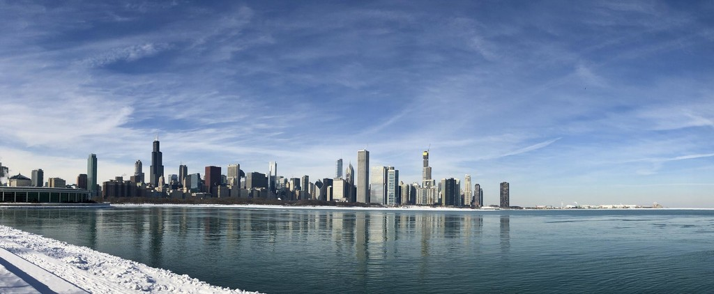 iphone Pano of Polar Chicago by jyokota