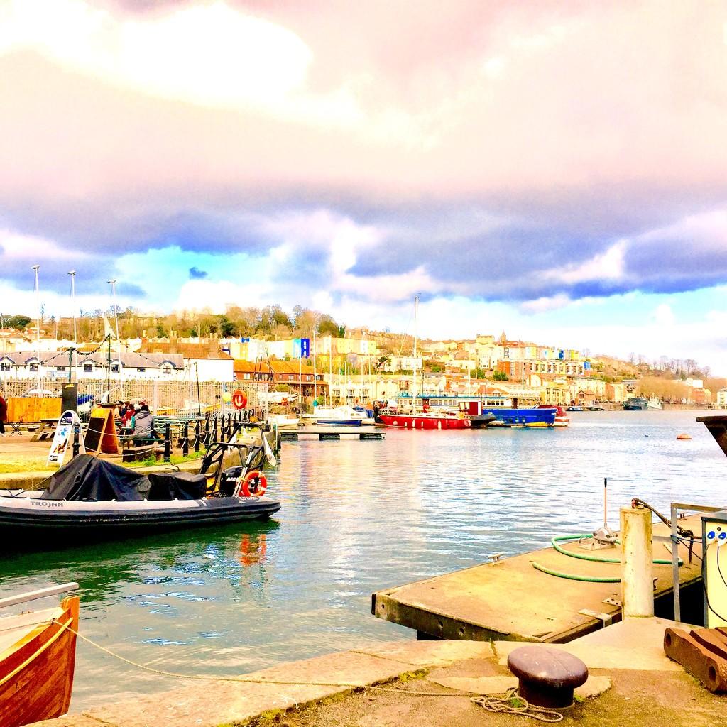 Bristol Harbourside by lilaclisa