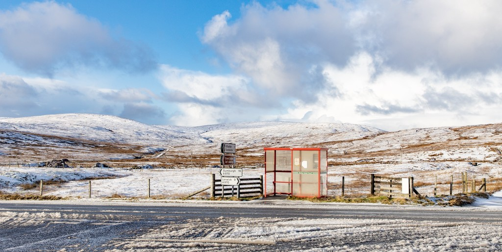 Bus Shelter by lifeat60degrees