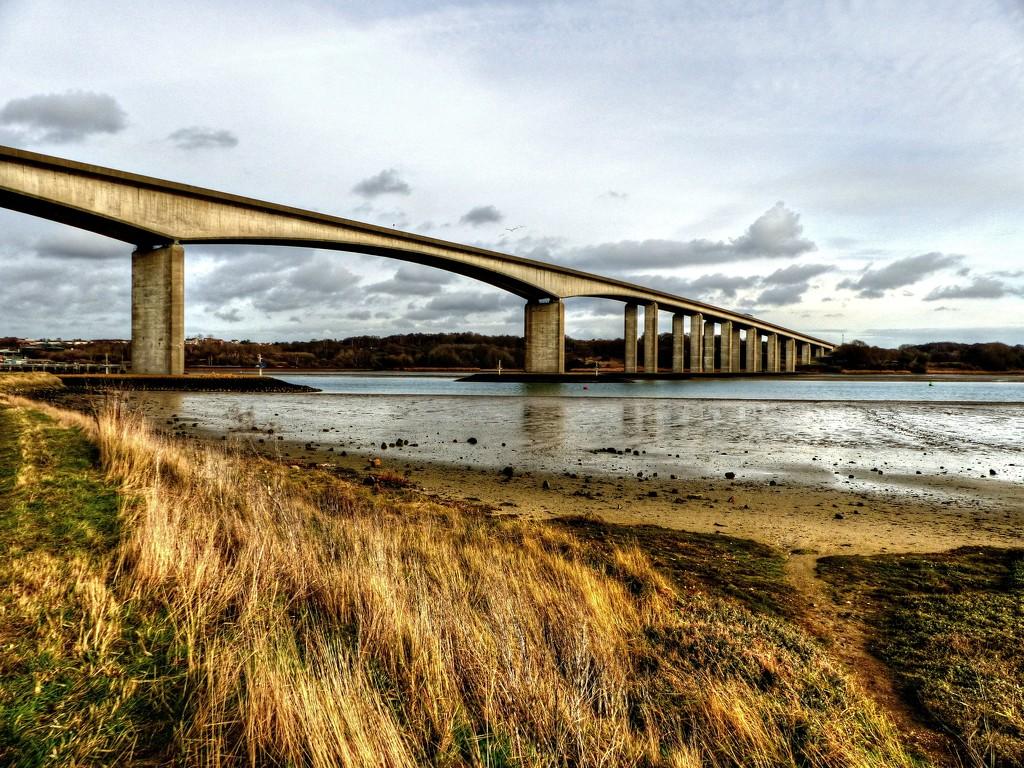 The Orwell Bridge by judithdeacon