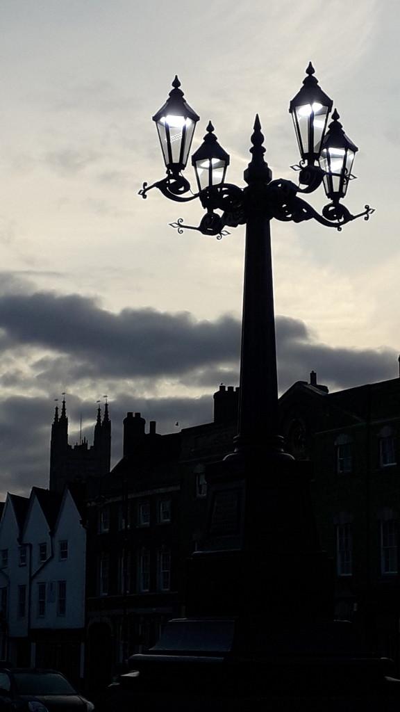 Market Square lights by mave