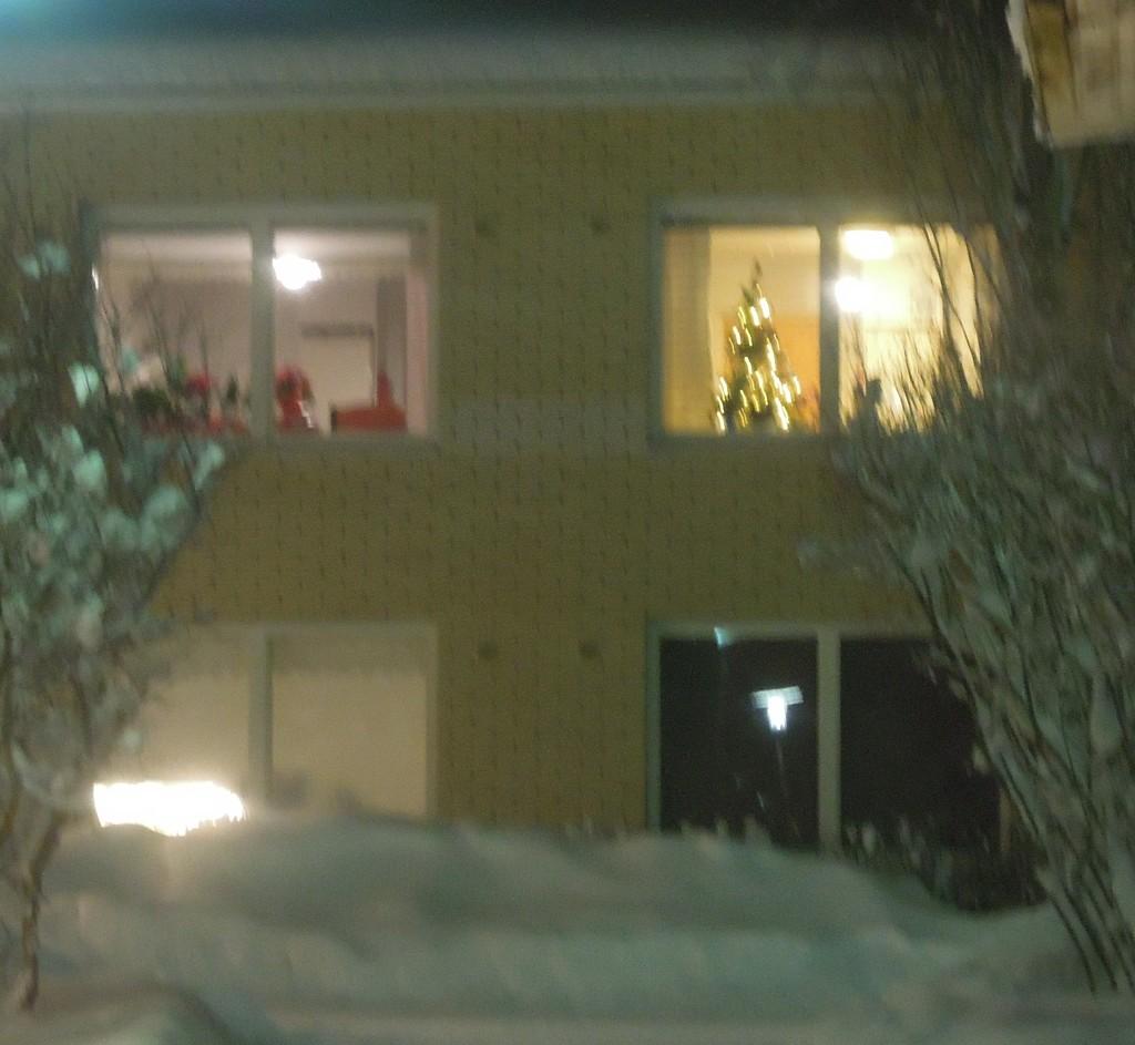 Christmas tree by octogenarian