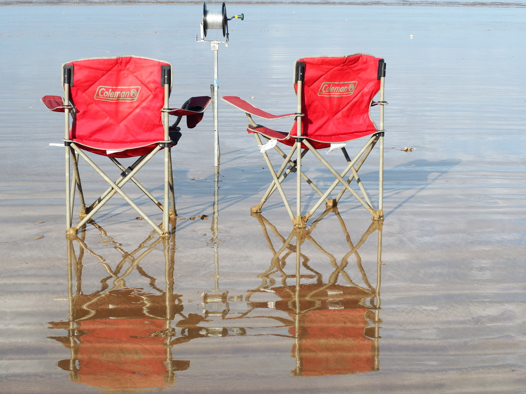 Longline , chairs and reflections by Dawn