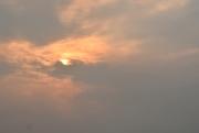 30th Jan 2019 - Sunset on a smoke filled day