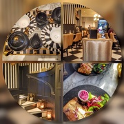 30th Jan 2019 - A lovely lunch with a friend today at a new restaurant - beautifully decorated and yummy food!
