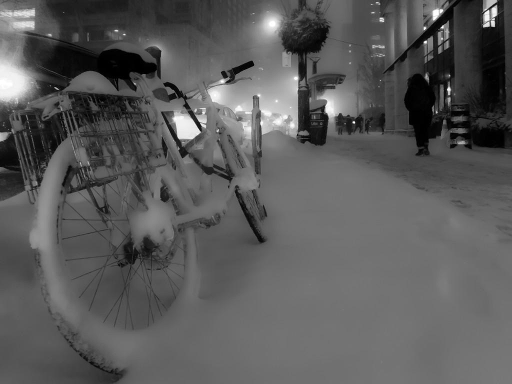 snow bike by northy