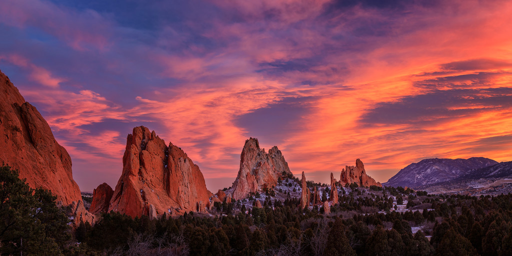 Colorful Layers in Garden of the Gods by exposure4u