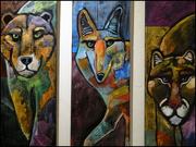 29th Jan 2019 - wildlife triptych