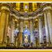 The Main Chapel,Malaga Cathedral by carolmw