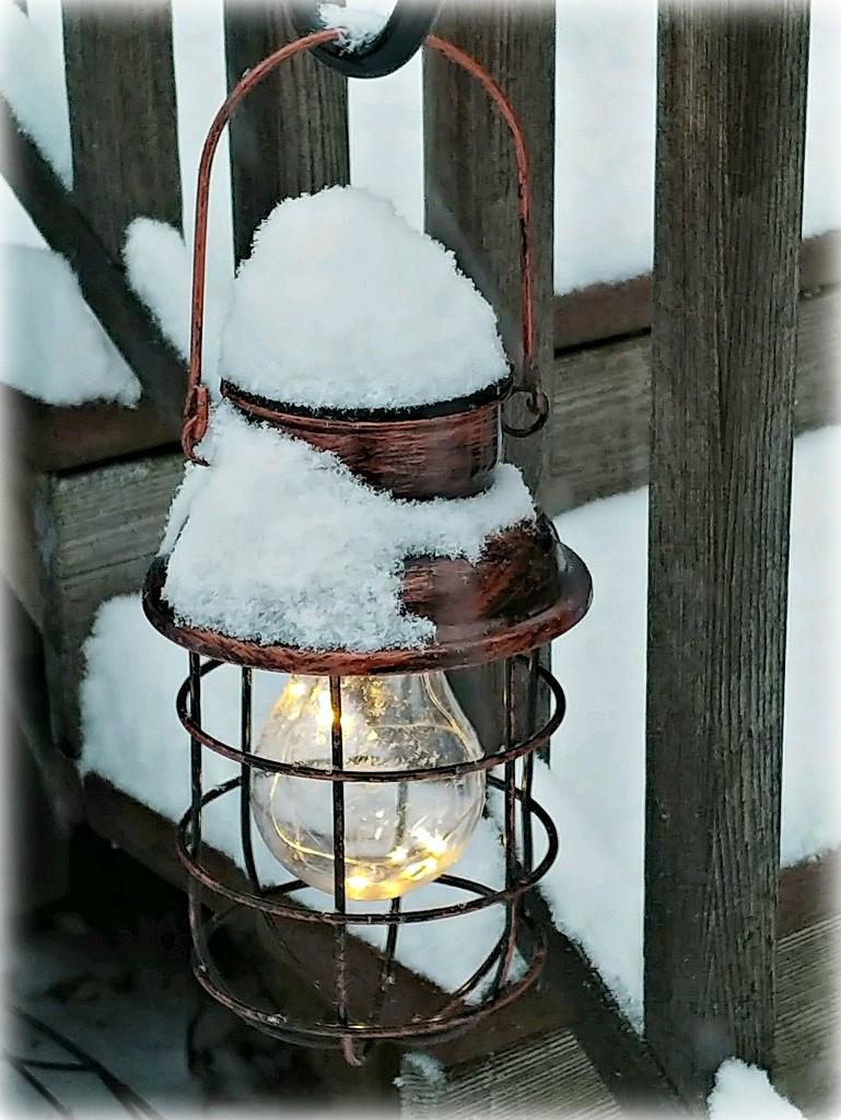 Snowy Light by jo38