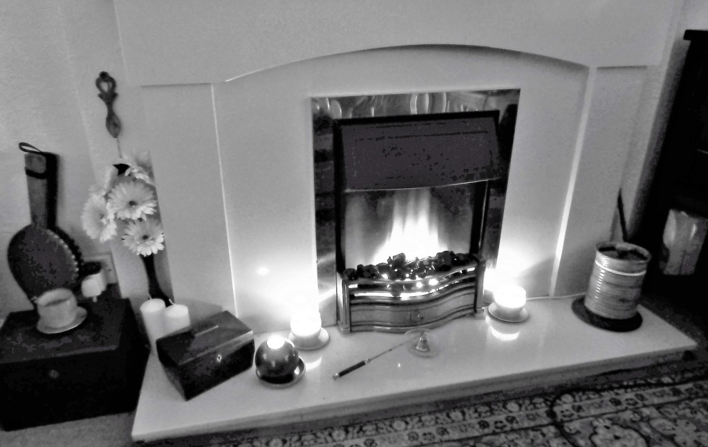 By the fireside  by beryl