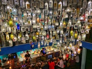 2nd Feb 2019 - The bottles chandelier.