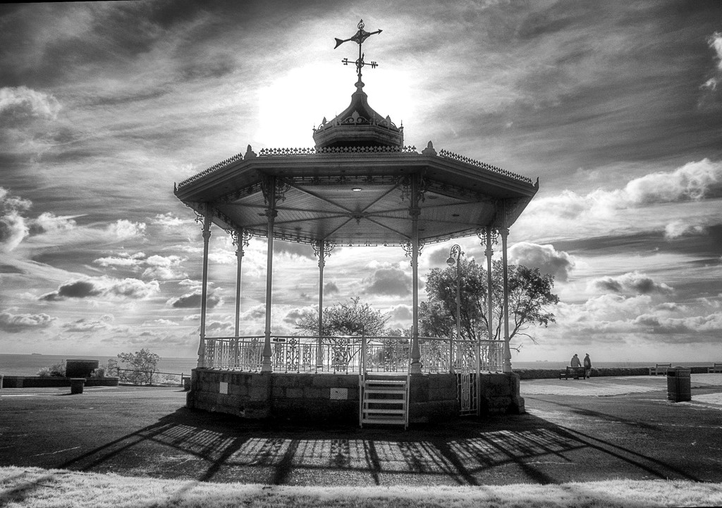Victorian Bandstand, The Leas, Folkestone by fbailey