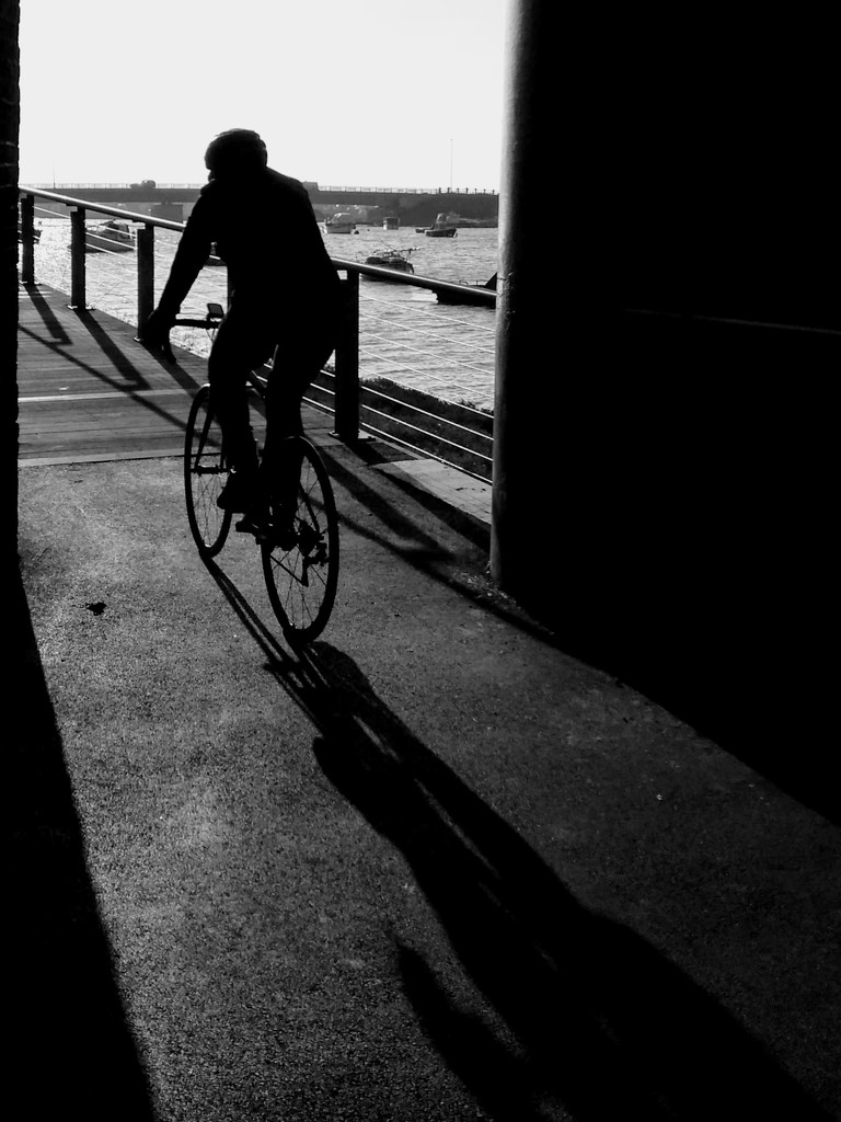 The cyclist by 4rky