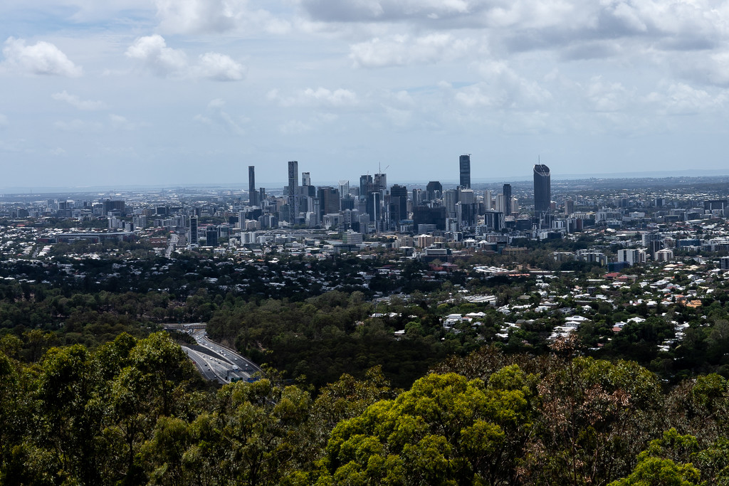 Mt Coot-tha Lookout by sugarmuser