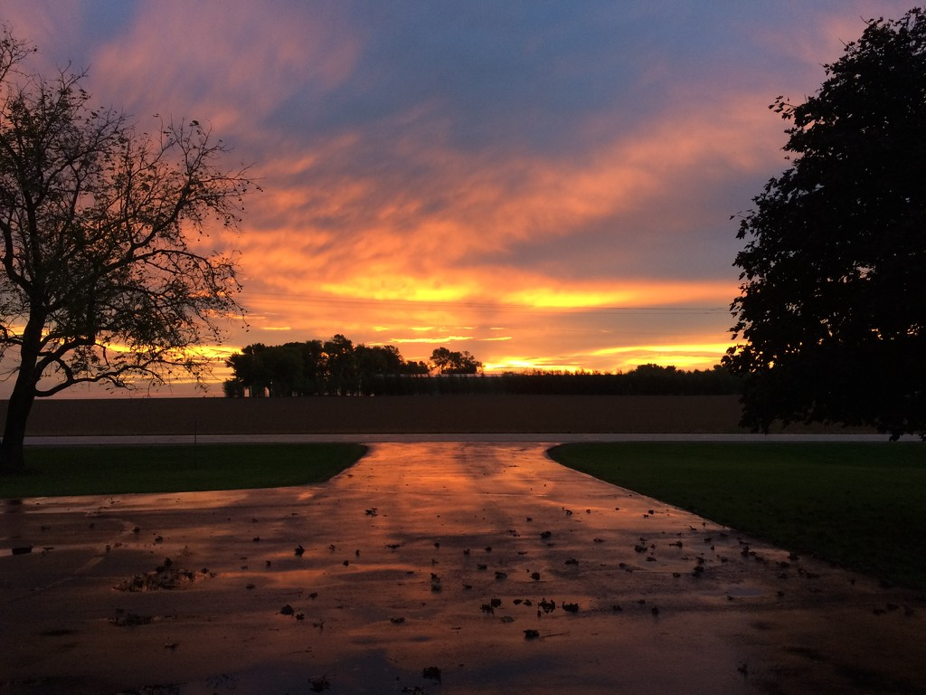Sunrise via iPhone by bjchipman