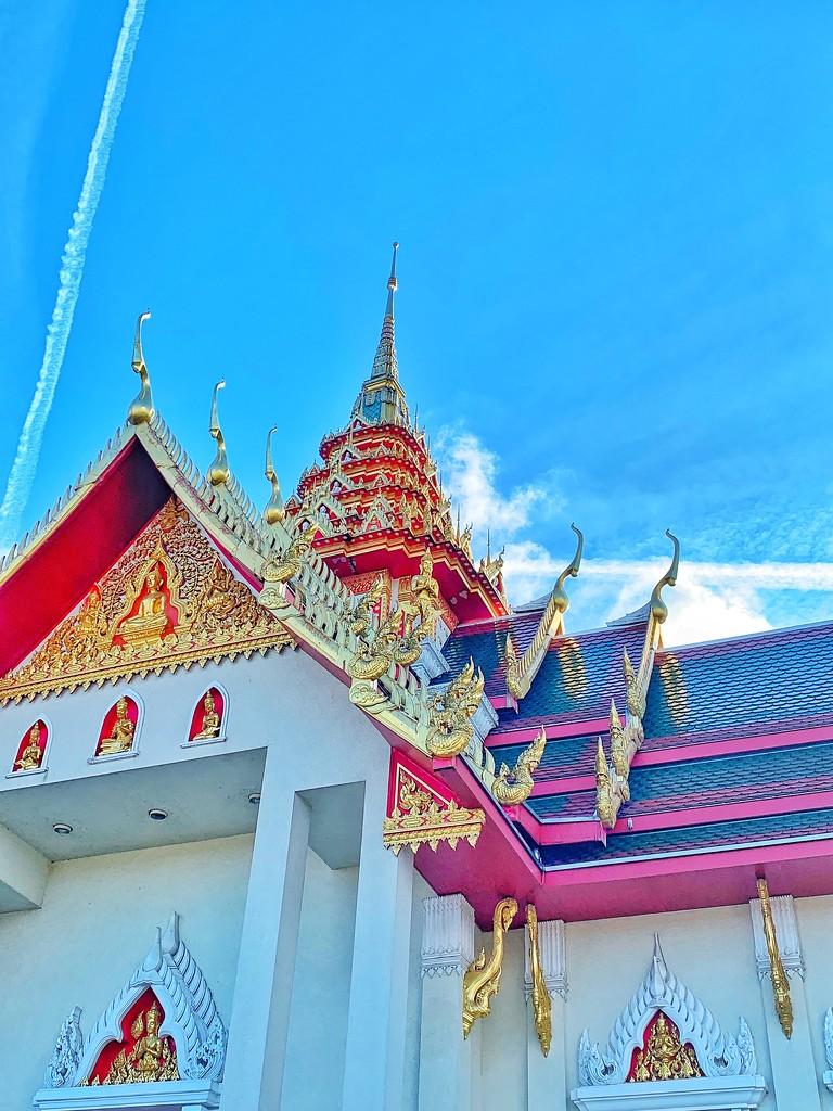 Buddhist temple.  by cocobella