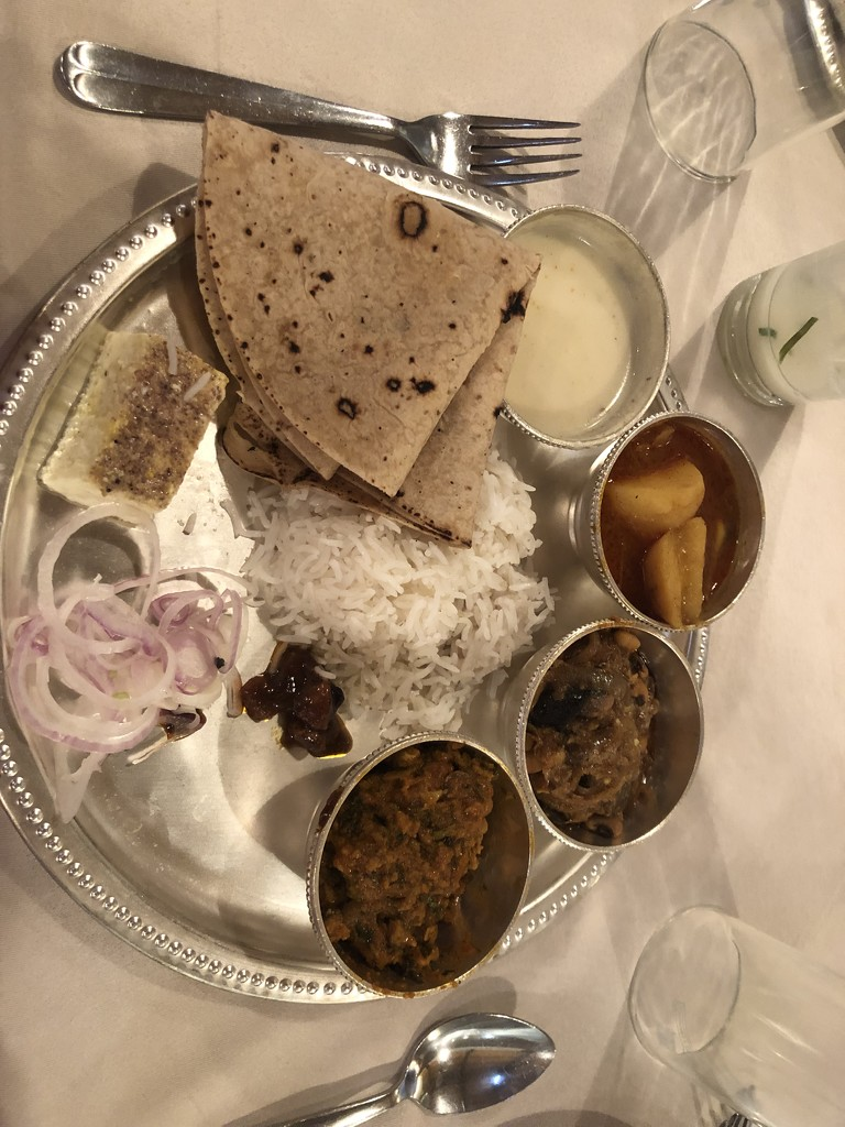 Traditional lunch by veengupta