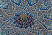 3rd Feb 2019 - 034 - Ceiling at the Baha Ad-Din Naqshband Necroplis