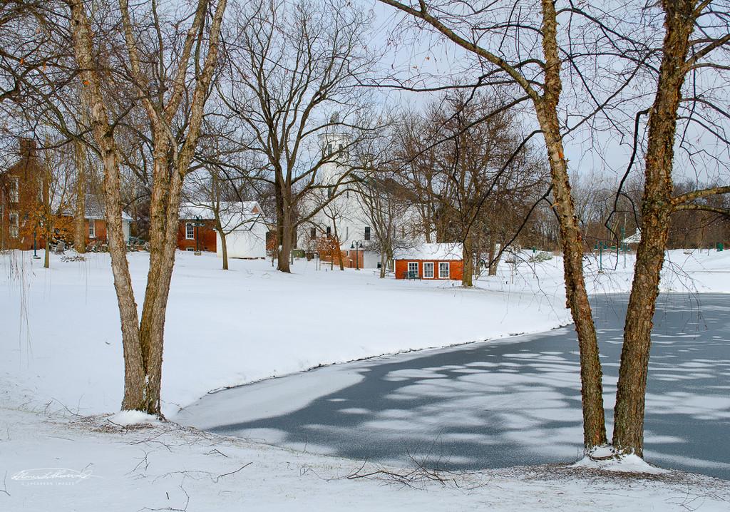 Postcard winter day by ggshearron