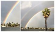 3rd Feb 2019 - Biggest, Brightest Rainbow(s) Ever!