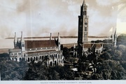 1st Feb 2019 - Old print of Bombay University and the clock tower