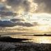 The sun sets on Shetland by jamibann