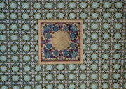 4th Feb 2019 - 035 - Ceiling at the Baha Ad-Din Naqshband Necroplis (2)