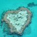 Heart shaped reef by sugarmuser
